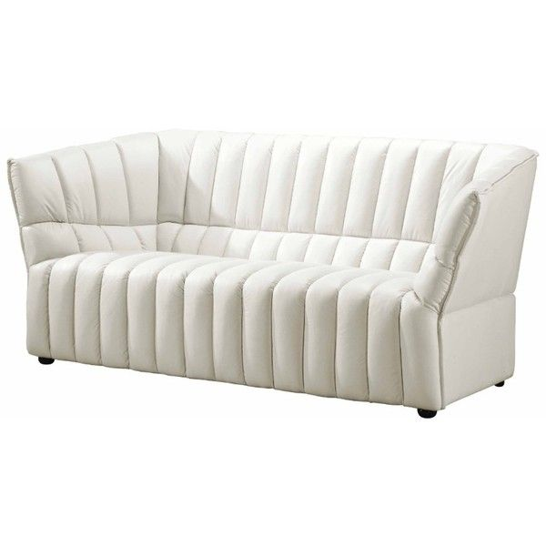 Chaise Sofa Art Deco Sofa OpulentItems liked on Polyvore featuring home