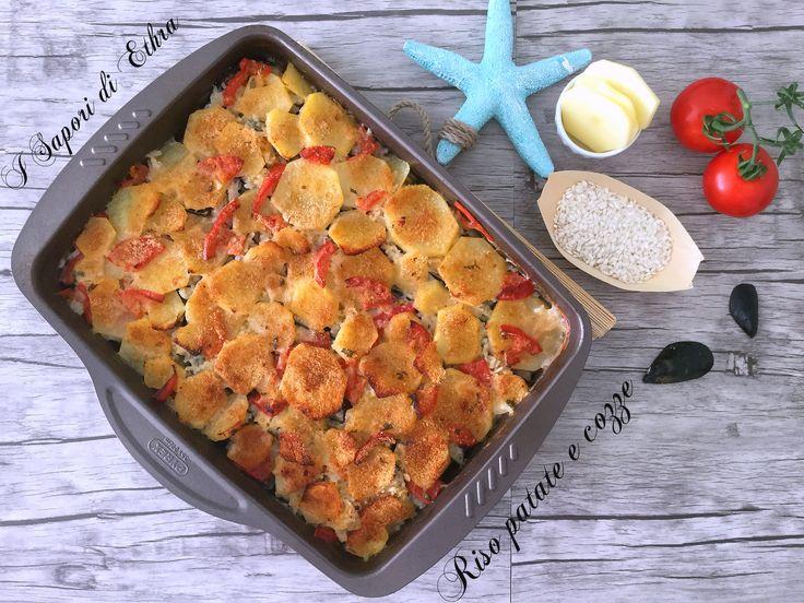 Riso patate e cozze tarantine http://blog.giallozafferano.it/isaporidiethra/riso-patate-e-cozze-tarantine/