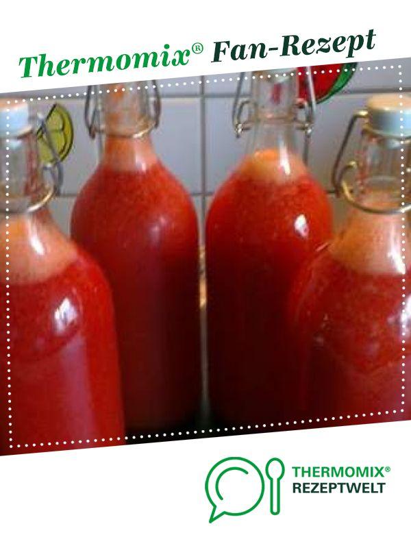 Sandra`s Erdbeerlimes mmmhhhh von Sandra H.. Ein Thermomix ® Rezept aus der Kategorie Getränke auf www.rezeptwelt.de, der Thermomix ® Community.