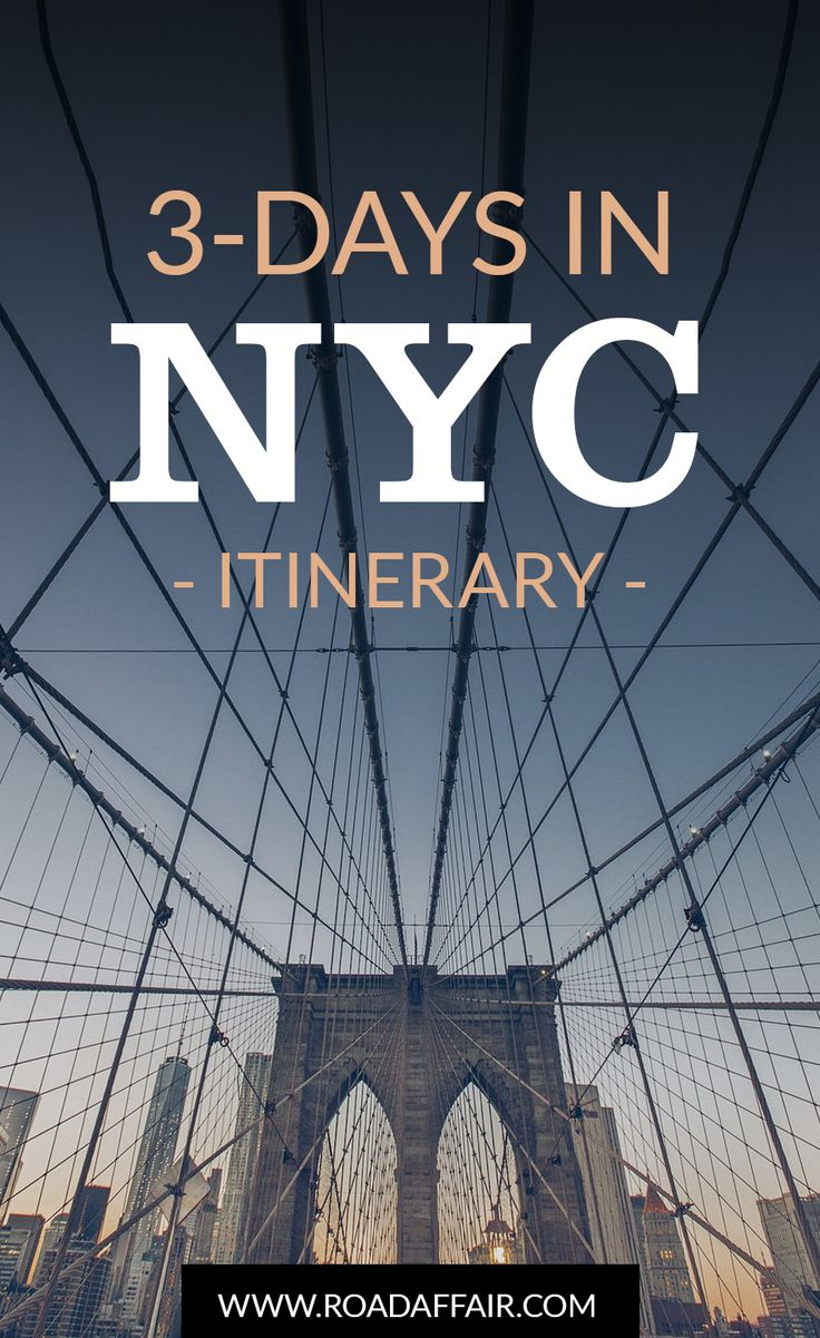 A 3-Day Itinerary to New York City with things to do, see and eat. Spend an amazing weekend in New York City with the help of this travel guide.