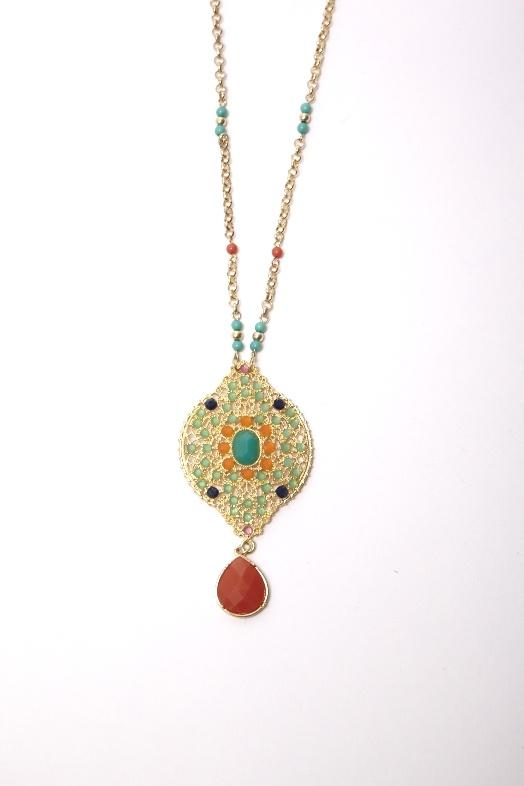 Multi-Colored Medallion | Lauren Lynne: Multi Colors Medallions, Lauren Lynn, Multicolored Medallions