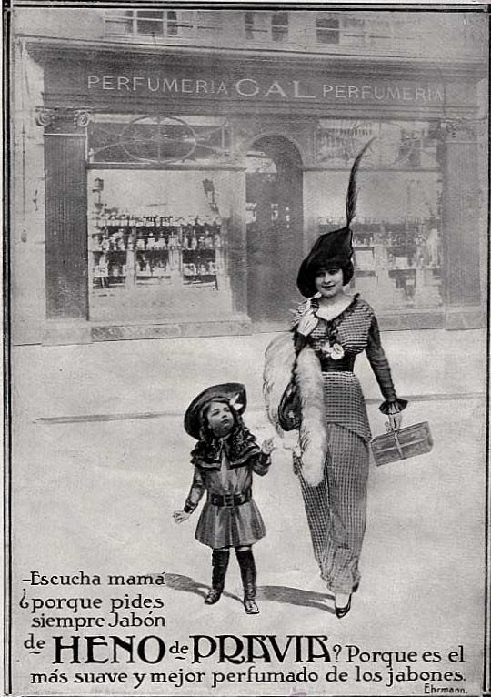Carteles Publicidad Heno de Pravia 1900-1930