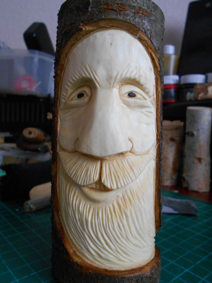 Wood Spirit, Woodcarving