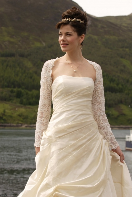 Michelle Monaghans dress in Made of Honor  Weddings and Wishes  Wedding dresses Designer