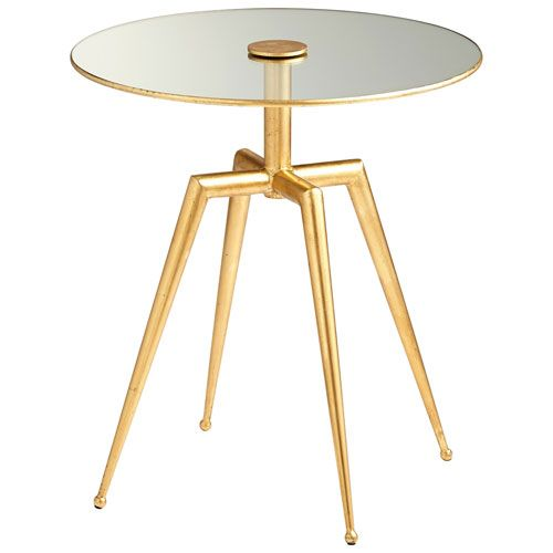 Cyan Design Talon Gold Side Table On SALE - Bellacor