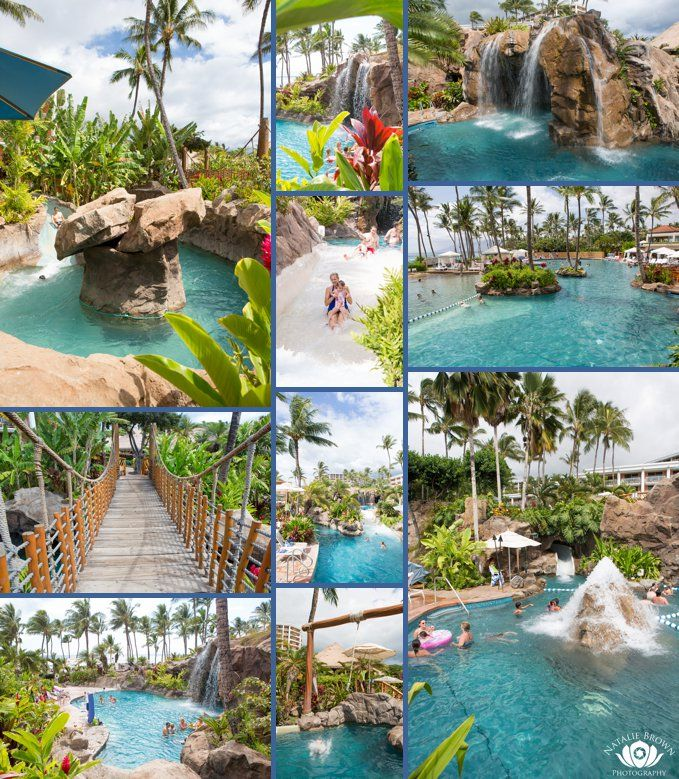Spend at least a full day on the slides when staying at the Grand Wailea