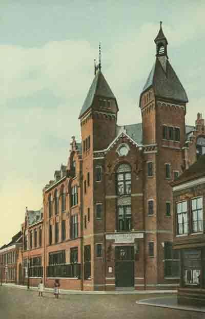 Het oude postkantoor Bagijnhof Dordrecht