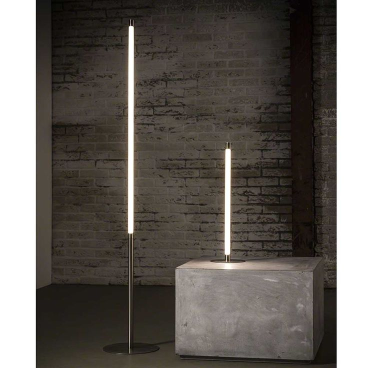 LED Stehlampe in Nickelfarben dimmbar Jetzt bestellen unter: https://moebel.ladendirekt.de/lampen/stehlampen/standleuchten/?uid=7bafa2b6-972a-59e9-ae9d-f4ae9fb494e5&utm_source=pinterest&utm_medium=pin&utm_campaign=boards #stehleuchter #stehlampen #leuchten #lampen #stehleuchten #stehleuchte