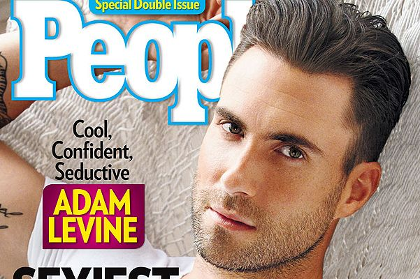 """Adam Levine People Sexiest Cover 
