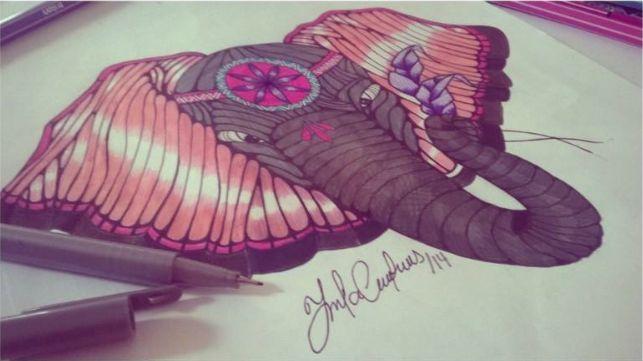 Elefante Por: Marcela Contreras