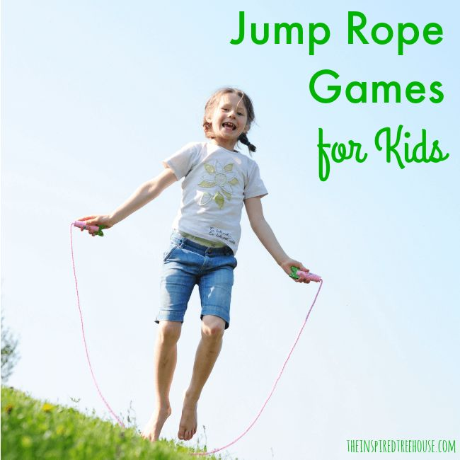 JUMP ROPE GAMES FOR KIDS