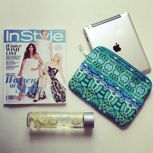 We love this shot of our June issue and limited edition #InStylexCamilla ipad case & clutch by @SYEHCLOPEDIA Show us how you're using yours, upload a shot & tag #InStylexCamilla