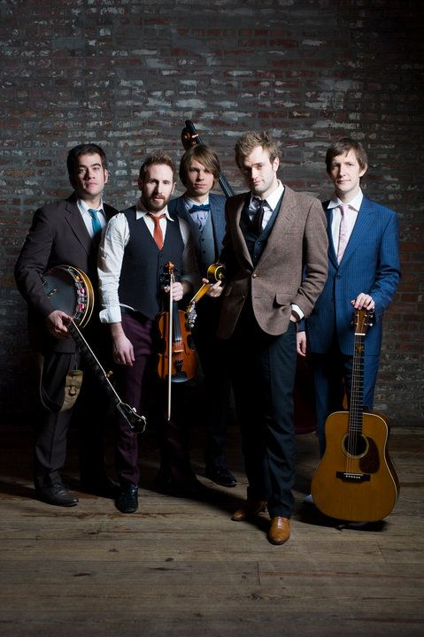 Punch Brothers amazing sounding band. I would probably classify them under folk grass or maybe blue grass but either way. Even if you don't like this music, look them up some of the prettiest music I have ever heard