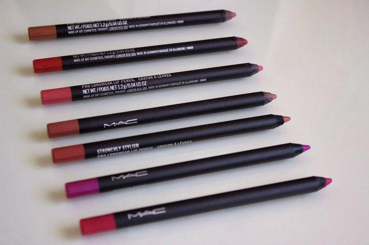 Aparichi Makeup: Blog de Maquillaje y Belleza - Maquilladora Profesional Madrid: Un 10 para los Pro Longwear Lip Pencil de MAC
