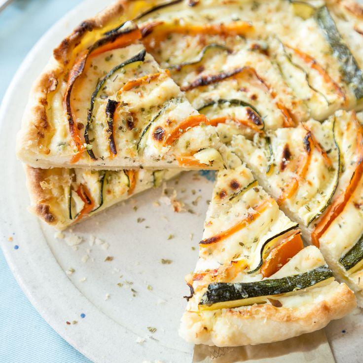 Zucchini-Möhren-Quiche