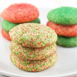Butter Drop Cookies - Super easy and delicious.  If your little one is like mine and always wants to make cookies, this is an excellent go-to recipe.  We color them with food coloring and roll them in various sprinkles