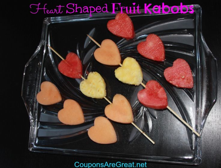How to Make Heart Shaped Fruit #valentinesday