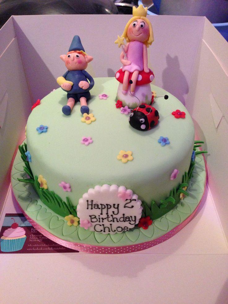 Ben & Holly's Little Kingdom birthday cake | Novelty ...  Ben & Holly'...