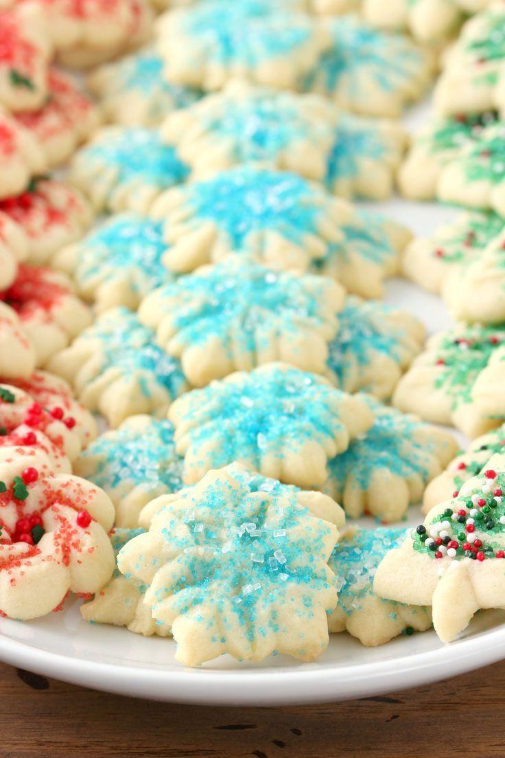 Classic Spritz Cookies Recipe from A Kitchen Addiction /akitchenaddict/ #50StatesofCookies #ad /bobsredmill/