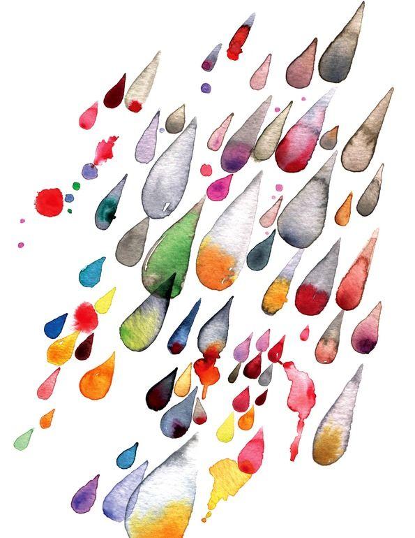 rain  by Meta Wraber