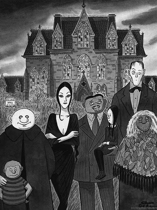 The Addams Family by Charles Addams, March 1973