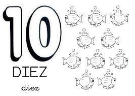 Resultado de imagen de guias para enseñar el numero 10