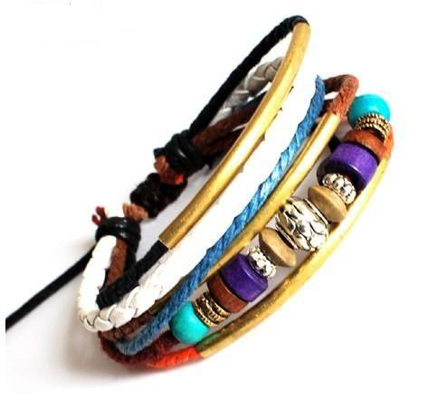 Jewelry Bangle bracelet women Leather Bracelet by braceletcool, $7.50