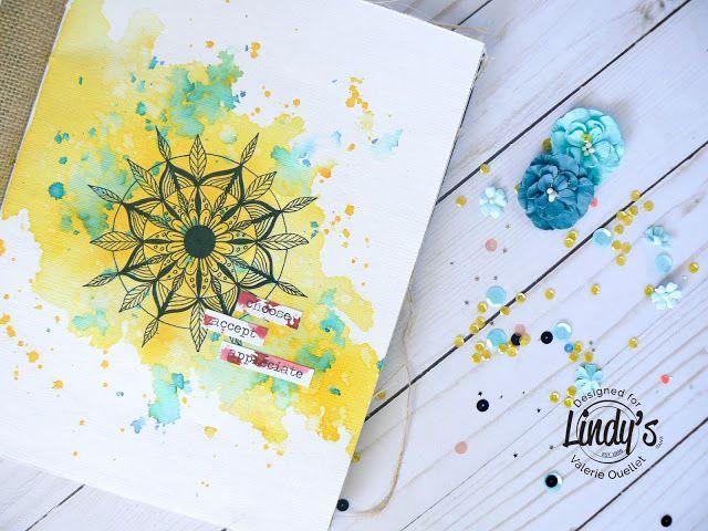 Lindy's stamp gang July Moodboard