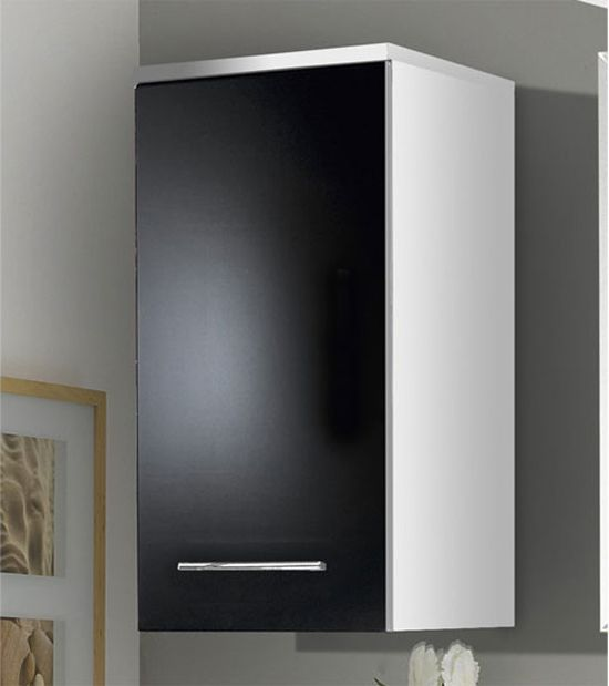 Black Gloss Bathroom Wall Cabinet Home Furniture Design