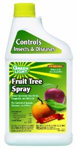 Green Light 41017 Fruit Tree Spray by Green Light. $16.05. It is a 2 in 1 product that is insect control and fertilizer. Fruit tree spray. Prevents fungal attack of plant tissue. This product counts 12 pound. Broad spectrum insecticide, fungicide and miticide. Fruit tree spray is a broad spectrum insecticide, fungicide and miticide which kills eggs, larval and adult stages of insects. Prevents fungal attack of plant tissues. This can be used up to the day of harvest which pr...