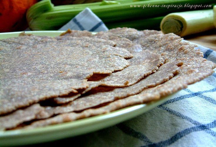 Qchenne-Inspiracje! Przepis na domową, pełnoziarnistą tortillę. Zero konserwantów i sztucznych dodatków. 100 % natury. Tylko 4 składniki