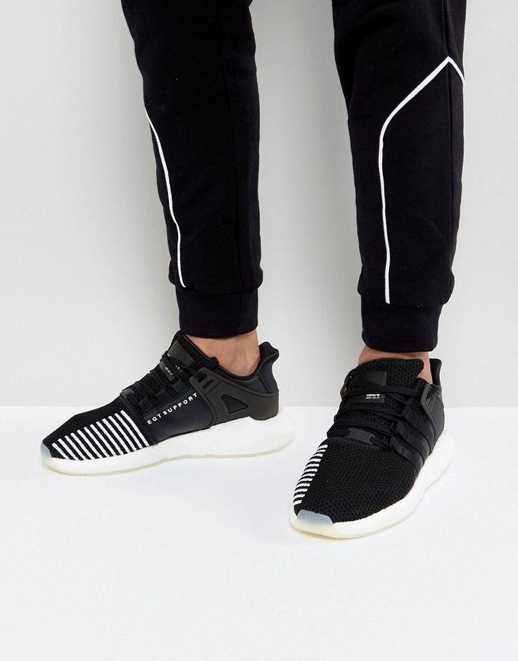 adidas Originals EQT Support 93/17 Sneakers In Black BZ0585 - Black
