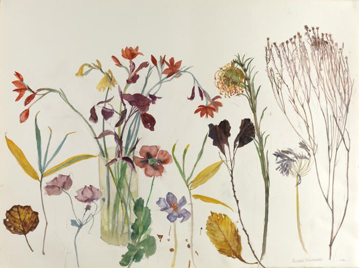 Elizabeth Blackadder - The Scottish Gallery, Edinburgh - Contemporary Art Since 1842