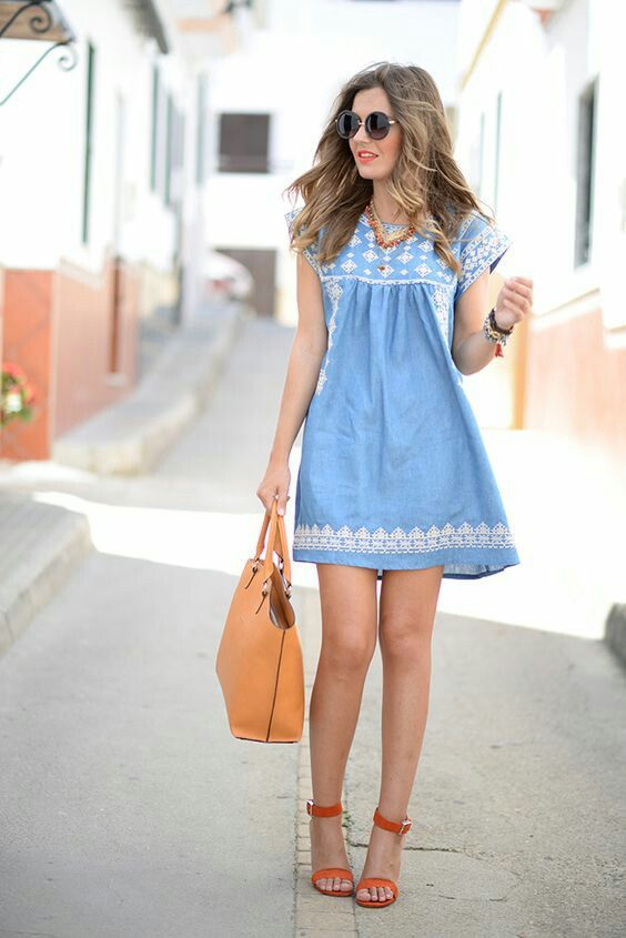 Chambray for summer