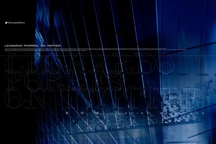 """LEONARDO PORRÉS. ON TWITTER. #022 """"SKIES.OF.STONE"""" V5 ___ Artwork inspired on the film """"I, Robot"""" and the song """"I, Robot Theme (End Credits)"""", Score composed by Marco Beltrami.  I invite to see the picture listening at the song here:  http://www.youtube.com/watch?v=CGGr6aohGR0 __ Design & Photography © Leonardo Porrés __ #inspirational #creativity #concept #art #direction #graphic #design #photography #digital #mixed_media #flickr __ Follow me at: http://twitter.com/leonardoporres"""