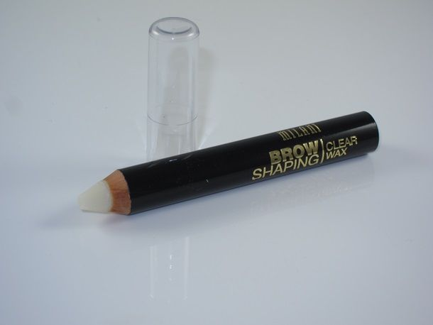 Milani Brow Shaping Clear Wax Pencil Review….Hmm sounds interesting, maybe it can replace my Anastasia clear brow gel.
