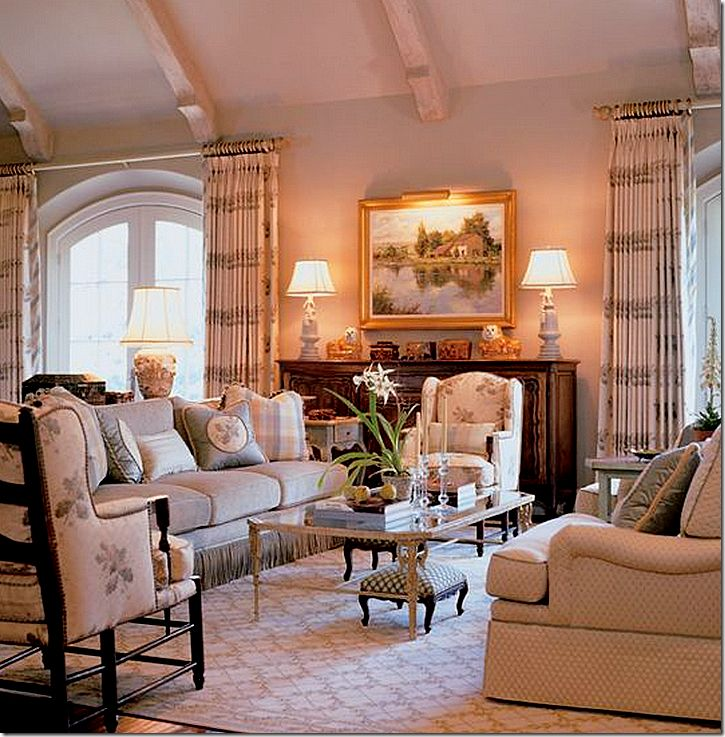 1362 best images about french country on pinterest for French country family room
