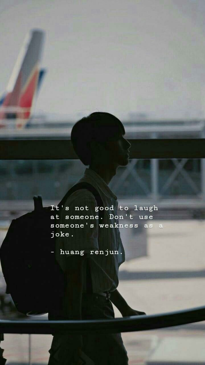 Huang Renjun Quotes Dengan Gambar Motivasi Aktor Kutipan