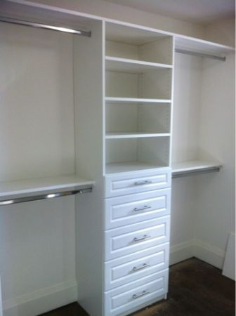 this is exactly what i need in our soon to be master only i closet renovationcloset remodelcloset shelvingcloset storagesmall - Closet Design For Small Closets