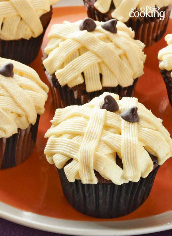 Mummy Cupcakes #recipe