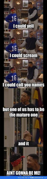 Will smith. Funny!! FRESH PRINCE OF BEL-AIRRRRR :DDDDDDD