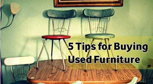 20 Tips for Buying Second Hand Furniture