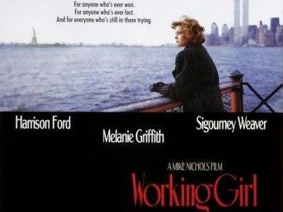Melanie Griffith in einer ihrer schönsten Rollen neben Harrison Ford. #WorkingGirl #Film #Hintergrund #Erfolg #Karriere #lieberselbermachen #LieberStellan