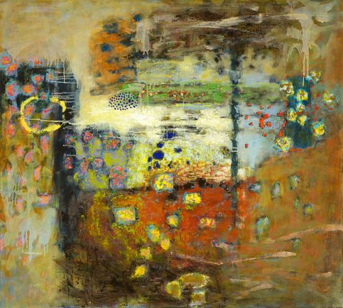 Molecules in Motion oil on canvas | 40 x 36"