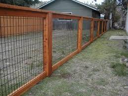 Znalezione obrazy dla zapytania make a framed in fence with welded wire fencing