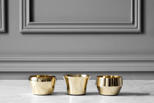 Kin design Claesson Koivisto Rune Brass • Skultuna