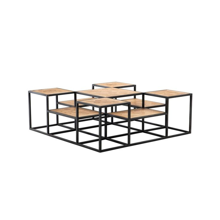 Vedel Industrial Loft Zinc Wood Rectangle Coffee Table: 1000+ Images About Side / Coffee Table On Pinterest