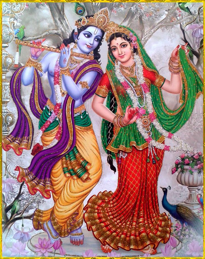 """🌺 RADHA GOVINDA 🌺 http://careforcows.org/ """"May Lord Krishna along with His beloved Radha bring about prosperity and auspiciousness at all times. In the same way may the devotee of Krishna, who is able to destroy all obstacles, always bring about..."""