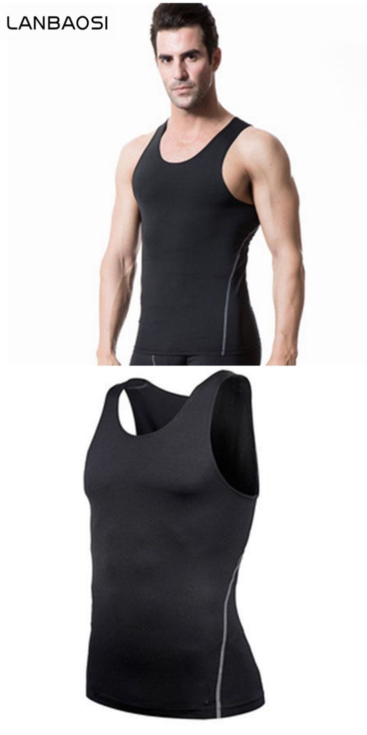 Men's skins compression gear Breathable Quick-Drying Vest Tank Body Shaper Running Workout Compression Underwear Boxing Jerseys