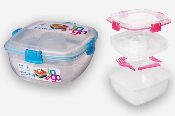Sistema Plastic Lunch Containers... I love mine!